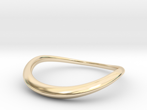 Wave Ring in 14K Yellow Gold
