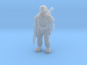 Unique HALO shock trooper /spec ops high detail in Smooth Fine Detail Plastic