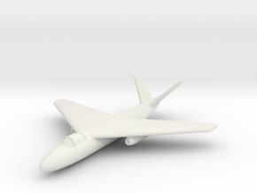 (1:285) Arado Ar Projekt II (V-tail variant) in White Natural Versatile Plastic
