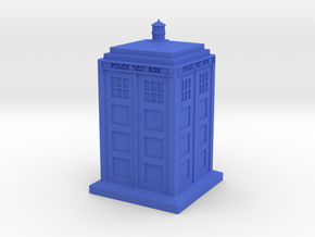 Police Call Box in Blue Processed Versatile Plastic: 1:64 - S