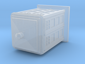 Police Call Box in Smooth Fine Detail Plastic: 1:160 - N