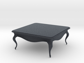 Miniature Chelini Table - Chelini in Black Professional Plastic: 1:12