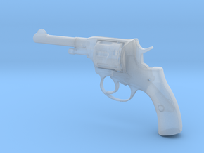 1/3 Scale Nagant Pistol (plastic) in Smooth Fine Detail Plastic