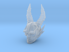 mythic demon head 1 in Smooth Fine Detail Plastic