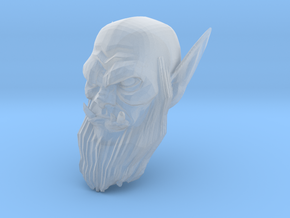orc head 4 in Smooth Fine Detail Plastic
