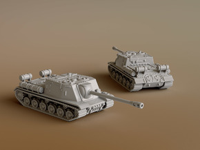 SU-122 scale: 1:160 in Smooth Fine Detail Plastic