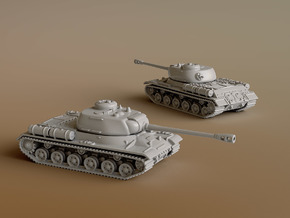 IS-2 Heavy Tank Scale: 1:200 in Smooth Fine Detail Plastic