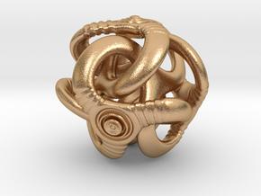 Trilio - Ripples - 20mm in Natural Bronze