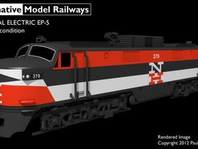 NEP501 N scale EP-5 loco - as built in Frosted Ultra Detail