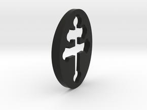 TEAM RING FILL SIZE 17 in Black Natural Versatile Plastic