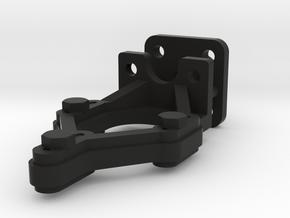Signal Lamp & Blinker Brackets no bolts 1:19 scale in Black Natural Versatile Plastic
