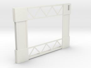 Trussworks iPad Case in White Natural Versatile Plastic