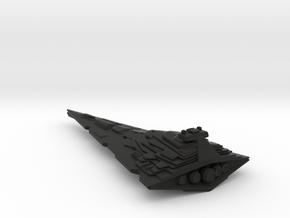 "Titan Star Destroyer - 6"", 15.2 cm in Black Natural Versatile Plastic"