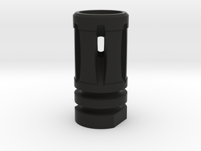 Airsoft M16 A1 Flash Hider in Black Natural Versatile Plastic