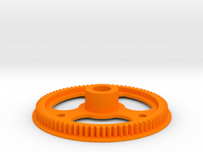 Aerodynic Strong - 3Xe in Orange Processed Versatile Plastic