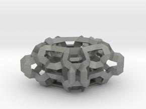 Pentafractal in Gray Professional Plastic