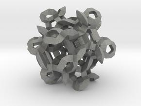 Triform Pendant in Gray Professional Plastic