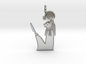 Ra-Mau amulet in Natural Silver