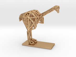 Ostrich (Young) in Natural Bronze