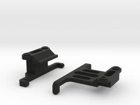 Tamiya M-07 Shorty LiPo Battery Holder V2 in Black Natural Versatile Plastic