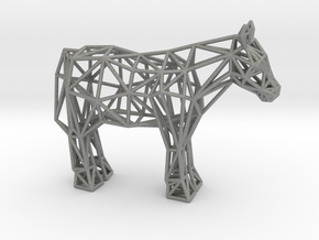 Shetland Pony in Gray Professional Plastic