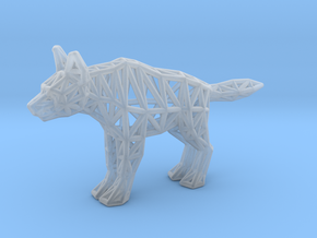 Striped Hyena (adult) in Smooth Fine Detail Plastic