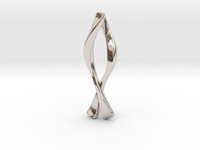 Ichthys Pendant - Christian Jewelry in Rhodium Plated Brass