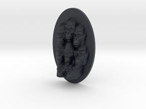 Gorilla Multi-Faced Caricature (005) in Black PA12
