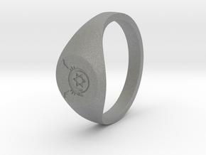 Ouroboros in Gray Professional Plastic: Medium