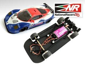3D Chassis - Ninco Mosler MT900 R GT3 - Combo in Black Natural Versatile Plastic