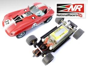 3D Chassis - MRRC Cheetah - Inline in Black Natural Versatile Plastic