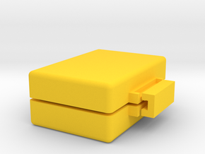 Custom Soap Mold #2 in Yellow Processed Versatile Plastic