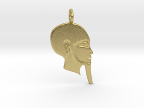 Ptah in Natural Brass