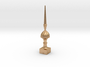 Signal Finial (Victorian Spike) 1:24 scale in Natural Bronze