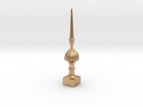 Signal Finial (Victorian Spike) 1:22.5 scale in Natural Bronze