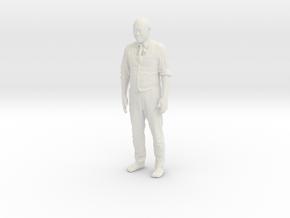 Printle C Homme 228 - 1/30 - wob in White Natural Versatile Plastic