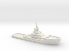 1/1200 Salvageman tug in White Natural Versatile Plastic