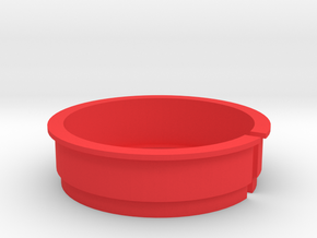 Tripod Collar Spacer for Novoflex LEMA and ASTAT N in Red Processed Versatile Plastic