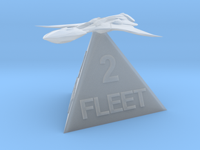 Xindi Fleet 2 in Smooth Fine Detail Plastic