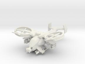 Scorpion Gunship V2 160 scale in White Natural Versatile Plastic