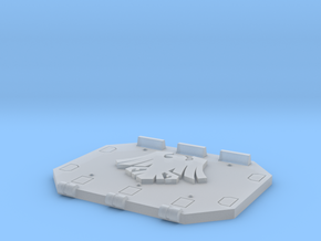 Space Crows Jericho Tank rear door in Smooth Fine Detail Plastic