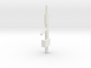 Galactic Defender Stun Carbine in White Natural Versatile Plastic