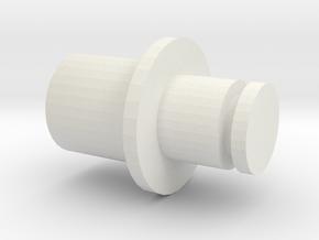 Piko crankpin in White Natural Versatile Plastic