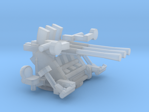 1/200 IJN Type 96 25mm Triple Mount in Smooth Fine Detail Plastic