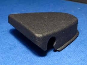 308 SEAT BELT TOP BOLT COVER in Black Professional Plastic