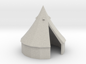 tent 1:50 in Natural Full Color Sandstone: 1:50