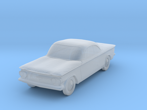 1963 Chevrolet Corvair - 1:285scale in Smooth Fine Detail Plastic