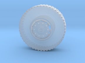1/25 AUSTRALIAN ARMY MC3 FRONT WHEEL in Smooth Fine Detail Plastic