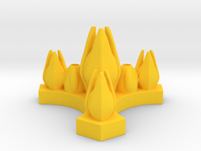 Species 8472 - Control Node in Yellow Processed Versatile Plastic