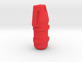 Fire Extinguisher 2kg in Red Processed Versatile Plastic